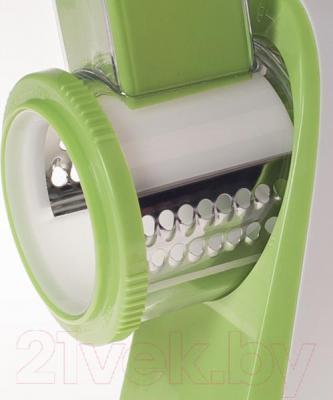 Овощерезка электрическая Kitfort KT-1304-2 (зеленый) - терки