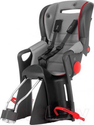 Детское велокресло Romer Jockey Comfort (черно-серый) - общий вид