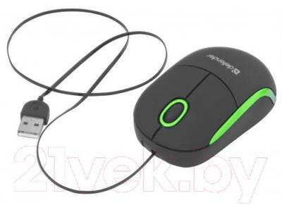 Мышь Defender Discovery MS-630 / 52631 (черно-зеленый)