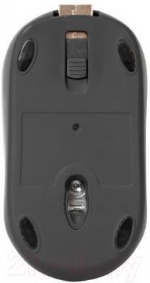 Мышь Defender Discovery MS-630 / 52631 (черно-зеленый) - вид снизу