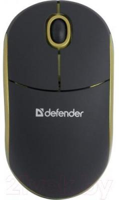 Мышь Defender Discovery MS-630 / 52633 (черно-желтый)
