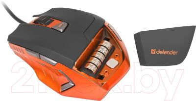 Мышь Defender Warhead GM-1500 / 52727 - регулировка веса