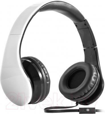 Наушники-гарнитура Defender Accord HN-047 / 63045 (белый) - общий вид