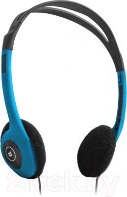 Наушники-гарнитура Defender Aura HN-001 / 63010 (синий) - общий вид