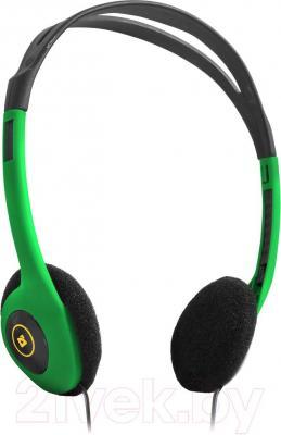 Наушники-гарнитура Defender Aura HN-001 / 63005 (зеленый) - общий вид