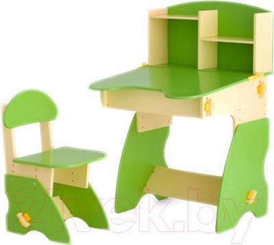 Стол+стул Столики Детям БC-2 (бежево-салатовый) - общий вид