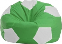 Бескаркасное кресло Flagman Мяч Стандарт М1.1-0400 (зеленый с белым) -