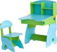 Стол+стул Столики Детям СГ-2 (салатово-голубой) -