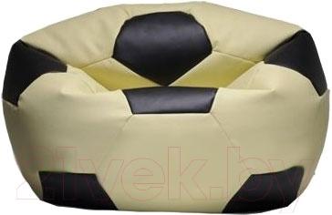 Бескаркасное кресло Flagman Мяч Стандарт М1.3-1116 (кремовый с черным)
