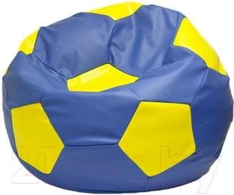 Бескаркасное кресло Flagman Мяч Стандарт М1.3-0308 (синий с желтым)