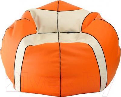 Бескаркасное кресло Flagman Мяч баскетбольный Стандарт М1.3-2010б (оранжево-белый)