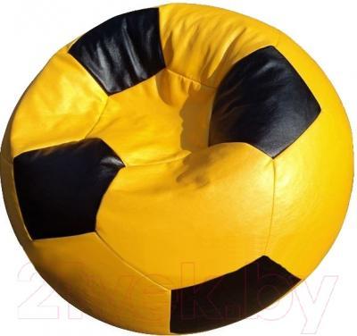 Бескаркасное кресло Flagman Мяч Стандарт М1.3-0816 (желтый с черным)