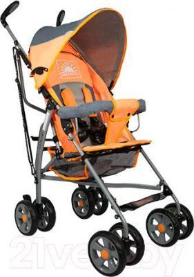 Детская прогулочная коляска INFINITY Echo (оранжевый) - общий вид
