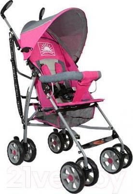 Детская прогулочная коляска INFINITY Echo (розовый) - общий вид