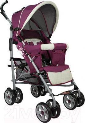 Детская прогулочная коляска INFINITY Lider Light (бордовый) - общий вид