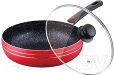 Сковорода Peterhof PH-15453-22 (красный) - общий вид