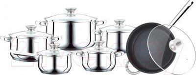 Набор кухонной посуды Peterhof PH-15799 - общий вид набора