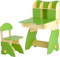 Стол+стул Столики Детям БC-3 (бежево-салатовый) -