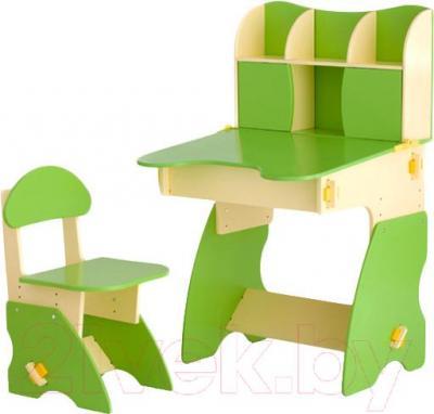 Стол+стул Столики Детям БC-3 (бежево-салатовый) - общий вид