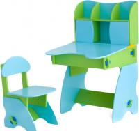Стол+стул Столики Детям СГ-3 (салатово-голубой) -