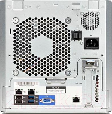 Сервер HP ProLiant Micro G2020T (784919-425) - вид сзади