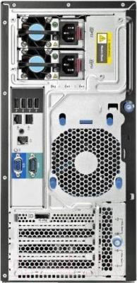 Сервер HP ProLiant ML310eG8v2 (470065-864) - вид сзади