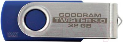 Usb flash накопитель Goodram 32Gb Twister USB 3.0 (PD32GH3GRTSBR9) - общий вид