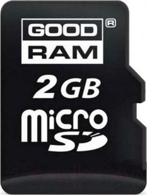 Карта памяти Goodram microSD 2Gb Slim Retail (SDU2GGRR10) - общий вид