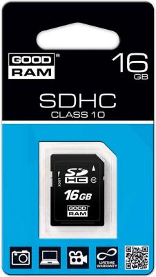 Карта памяти Goodram SDHC (Class 10) 16GB (SDC16GHC10GRR10) - общий вид