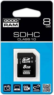 Карта памяти Goodram SDHC 8Gb Class 10 (SDC8GHC10GRR10) - общий вид