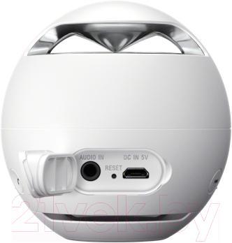 Портативная колонка Sony SRS-X1W (белый) - вид сзади