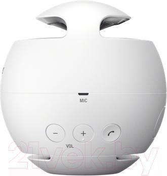 Портативная колонка Sony SRS-X1W (белый) - вид спереди