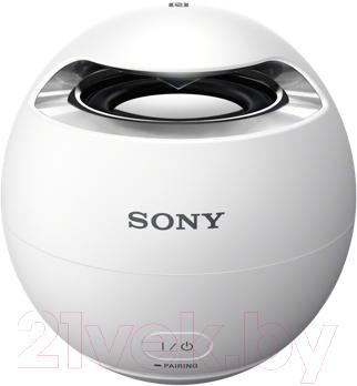Портативная колонка Sony SRS-X1W (белый) - общий вид