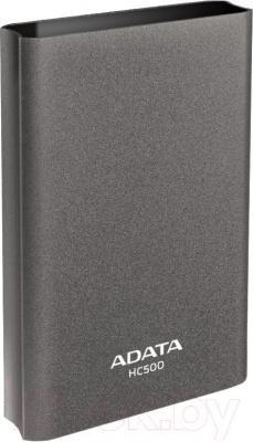 Внешний жесткий диск A-data HC500 1TB Titanium (AHC500-1TU3-CTI) - общий вид