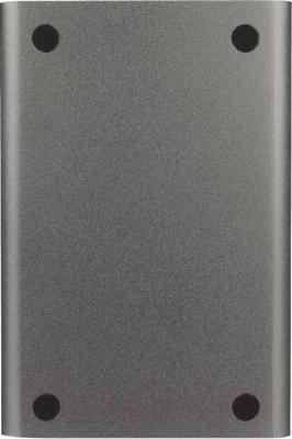 Внешний жесткий диск A-data HC500 1TB Titanium (AHC500-1TU3-CTI) - вид сзади