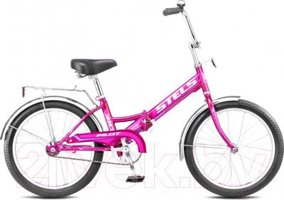 Велосипед Stels Pilot 310 (черно-синий)