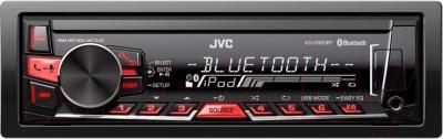 Бездисковая автомагнитола JVC KD-X320BTEY - общий вид