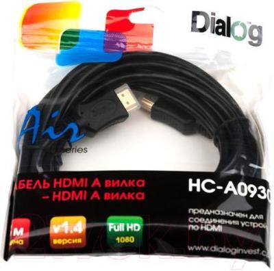 Кабель HDMI Dialog HC-A0930 - упаковка