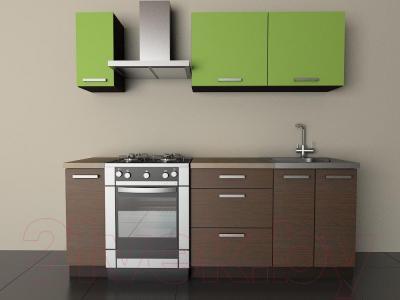 Готовая кухня Лавесон К.001.15 (лайм)