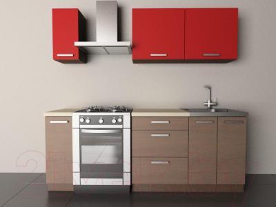 Готовая кухня Лавесон К.001.15 (чили-лайт)