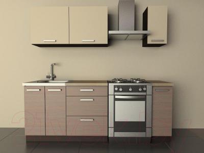 Готовая кухня Лавесон К.001.15 (бежевый песок-лайт)