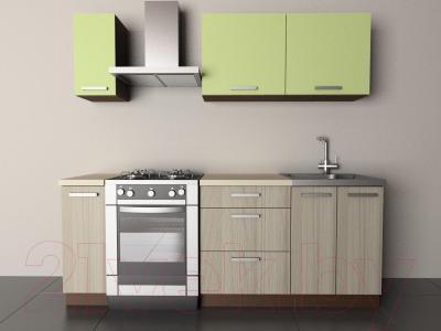 Готовая кухня Лавесон К.001.15 (васаби-дрифт)
