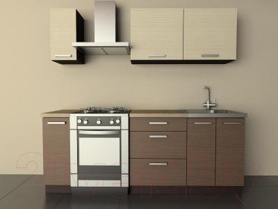 Готовая кухня Лавесон  К.001.15 (мокко)