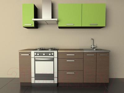 Готовая кухня Лавесон К.001.15 (лайм-мокко)