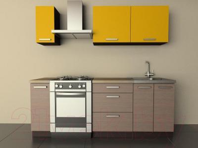 Готовая кухня Лавесон К.001.15 (желтый бриллиант-лайт)