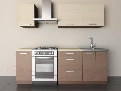 Готовая кухня Лавесон К.001.16 (вудлайнер кремовый-лайт)