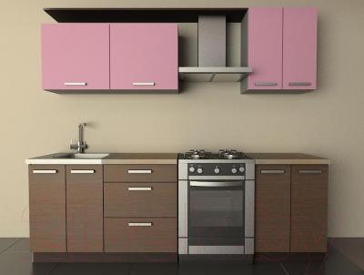 Готовая кухня Лавесон К.001.18 (орхидея)