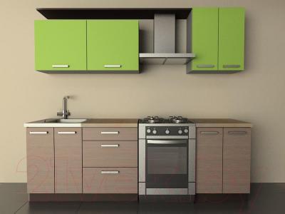 Готовая кухня Лавесон К.001.18 (лайм-лайт)
