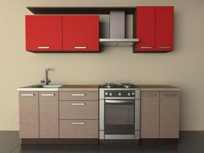 Готовая кухня Лавесон К.001.18 (чили-лайт)