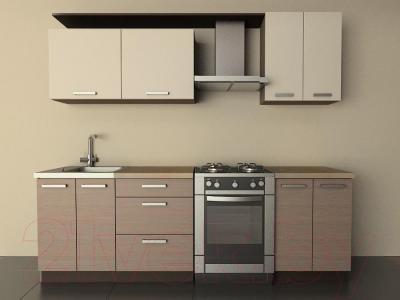 Готовая кухня Лавесон К.001.18 (бежевый песок-лайт)